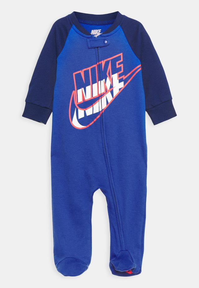 FULL ZIP FOOTED COVERALLS - Sleep suit - game royal