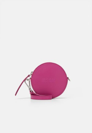 ROUND TRANSPARENT WINDOW CROSSBODY - Across body bag - cyclamen