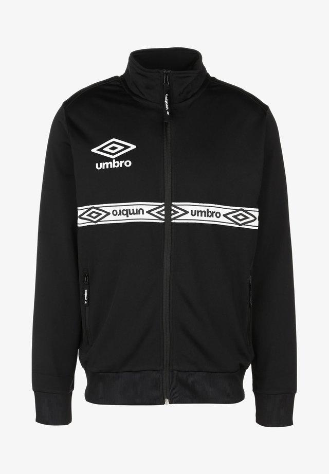 TAPED TRACK  - Training jacket - black