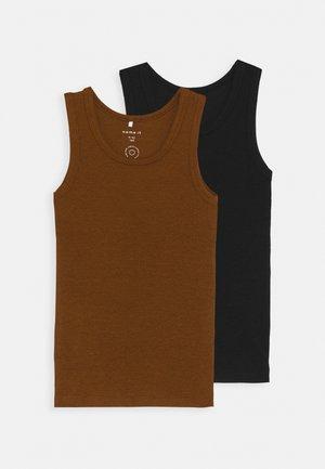NMMOSVALD 2 PACK - Camiseta interior - monks robe