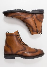 Giorgio 1958 - Lace-up ankle boots - camel - 1