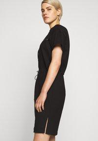 HUGO - NOMELIA - Vestito di maglina - black - 4
