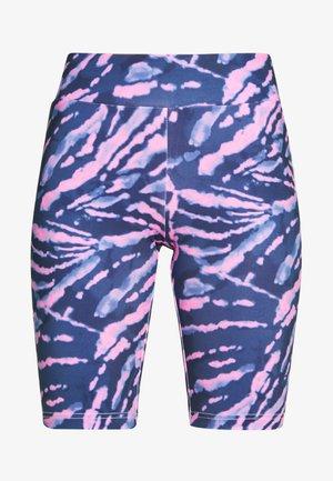 LADIES TIE DYE CYCLING - Shorts - darkshadow/pink