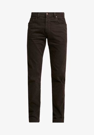 FIVE-POCKET - Pantalon classique - dark brown