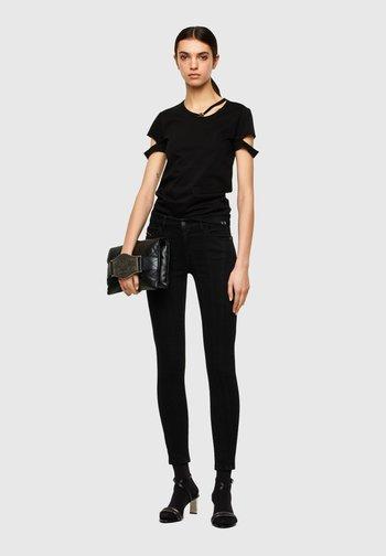 T-BULLOCK - Print T-shirt - black