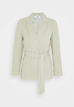 WASHED WRAP JACKET - Summer jacket - green
