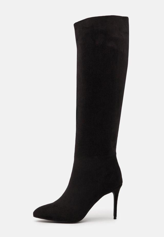 CURZON - Vysoká obuv - black