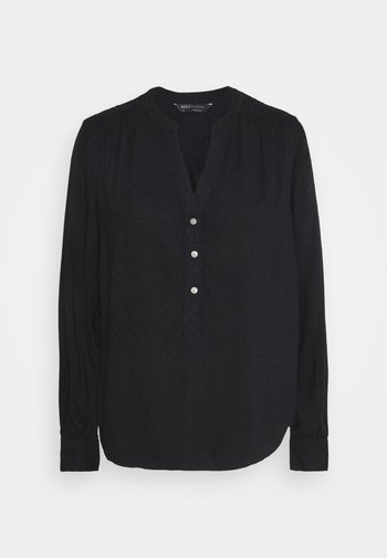 PLAIN CASUAL  - Blouse - black