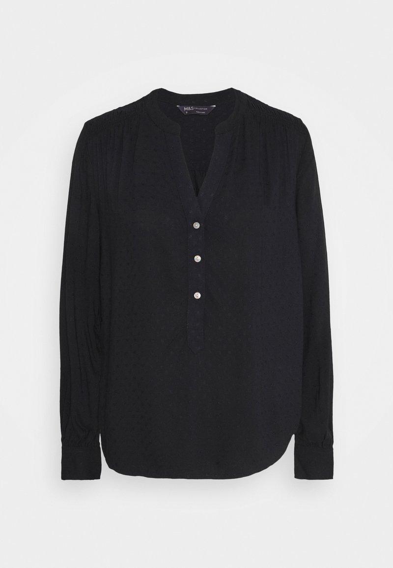 Marks & Spencer London - PLAIN CASUAL  - Blouse - black
