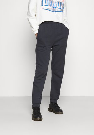 Tracksuit bottoms - washed black