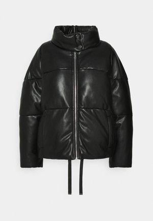 VEGAN PUFFER - Winter jacket - black