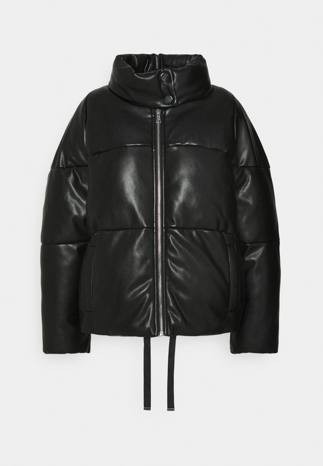 VEGAN PUFFER - Winterjas - black