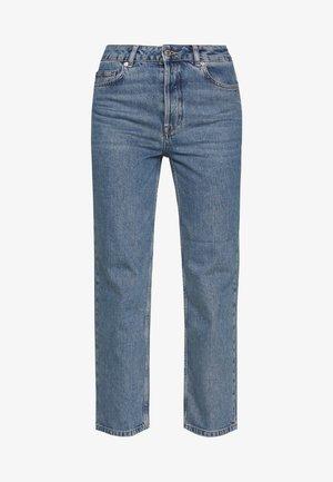 SLFKATE RAIL - Jeans straight leg - medium blue denim