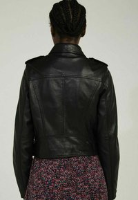 NAF NAF - CANDICE  - Leather jacket - black - 2