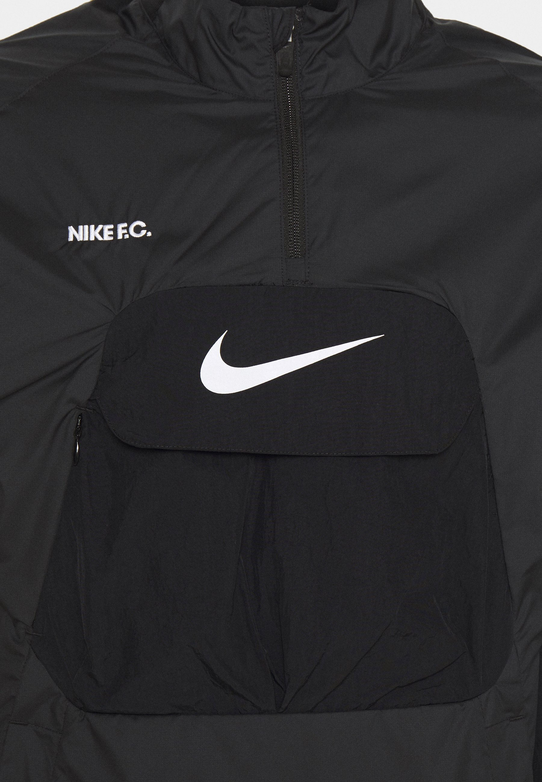 Clean And Classic Fast Delivery Men's Clothing Nike Performance FC ANORAK Training jacket black/white i8PP7gOnT W3FtNwROm