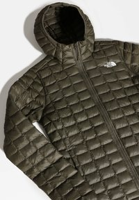 The North Face - W THERMOBALL ECO HOODIE - EU - Regnjakke / vandafvisende jakker - new taupe green matte - 3