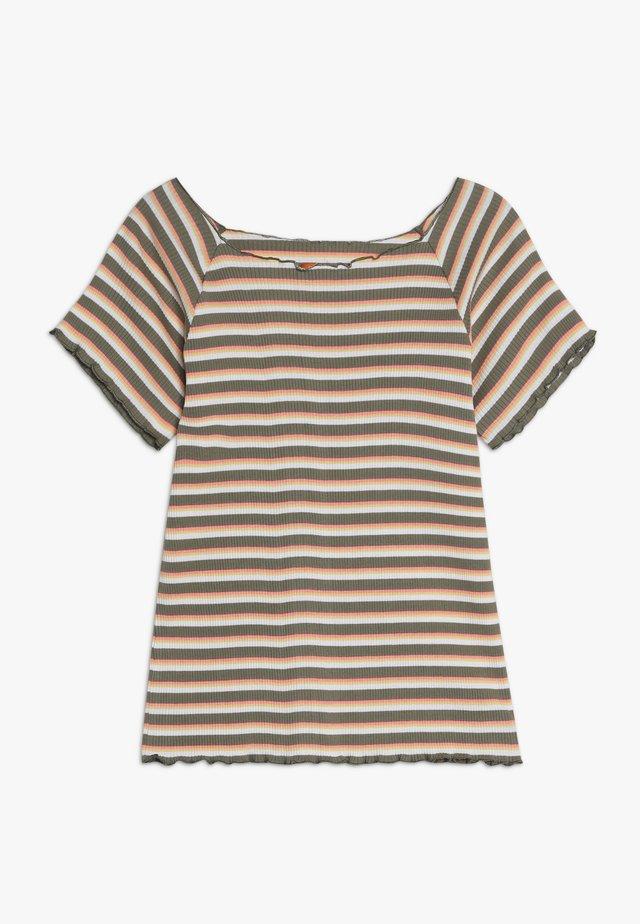 TEENAGER - T-shirt z nadrukiem - khaki