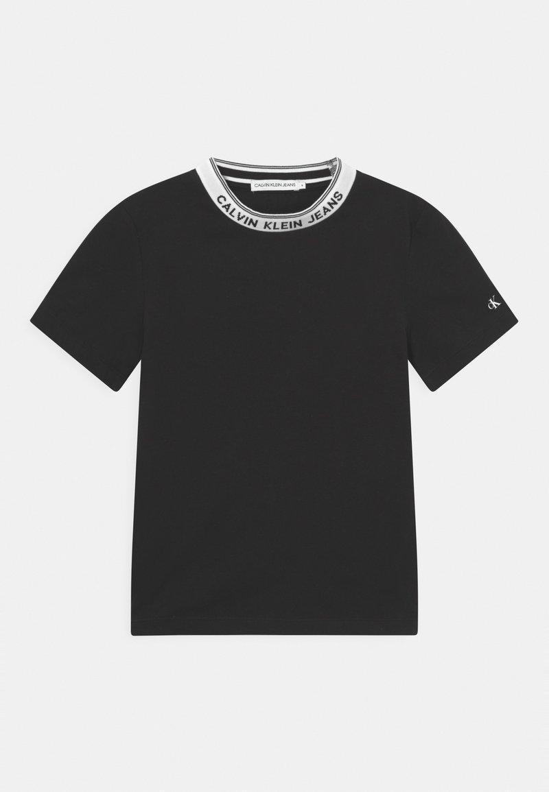 Calvin Klein Jeans - INTARSIA - Camiseta estampada - black