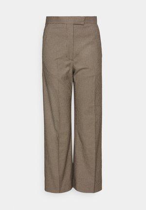 ATLANT - Spodnie materiałowe - dark sand