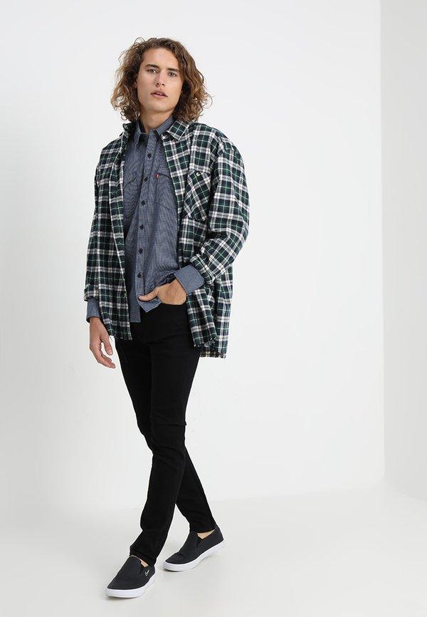 Levi's® 510 SKINNY FIT - Jeansy Skinny Fit - stylo/czarny denim Odzież Męska PIWR