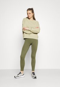 ARKET - Leggings - khaki green - 1
