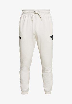 PROJECT ROCK - Teplákové kalhoty - summit white/black