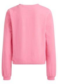 WE Fashion - T-shirt à manches longues - light pink - 1