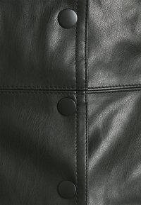 Miss Selfridge - CROC CAMI BUTTON THROUGH DRESS - Day dress - black - 2