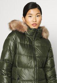 Calvin Klein - ESSENTIAL REAL COAT - Down coat - dark olive - 5