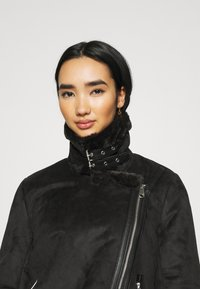 ONLY - ONLMARIA AVIATOR - Faux leather jacket - black - 3