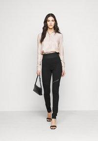 Noisy May Tall - NMJACKS - Leggings - Trousers - black - 1