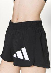 adidas Performance - Pantaloncini sportivi - black/white - 3