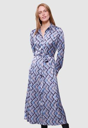 Shirt dress - rauchblau