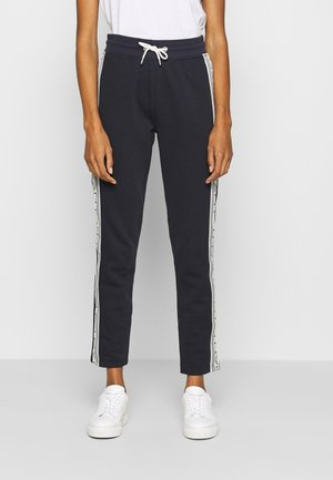 STRIPES PANTS - Tracksuit bottoms - evening blue