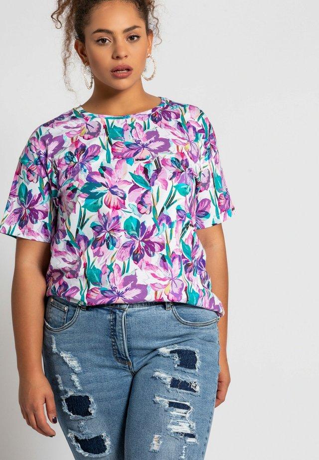 T-shirt print - veilchen
