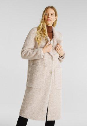COAT - Classic coat - cream beige