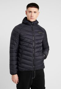 Supply & Demand - EXPLORE JACKET - Overgangsjakker - black - 0