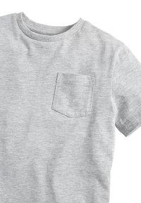 Next - Basic T-shirt - mottled grey - 2