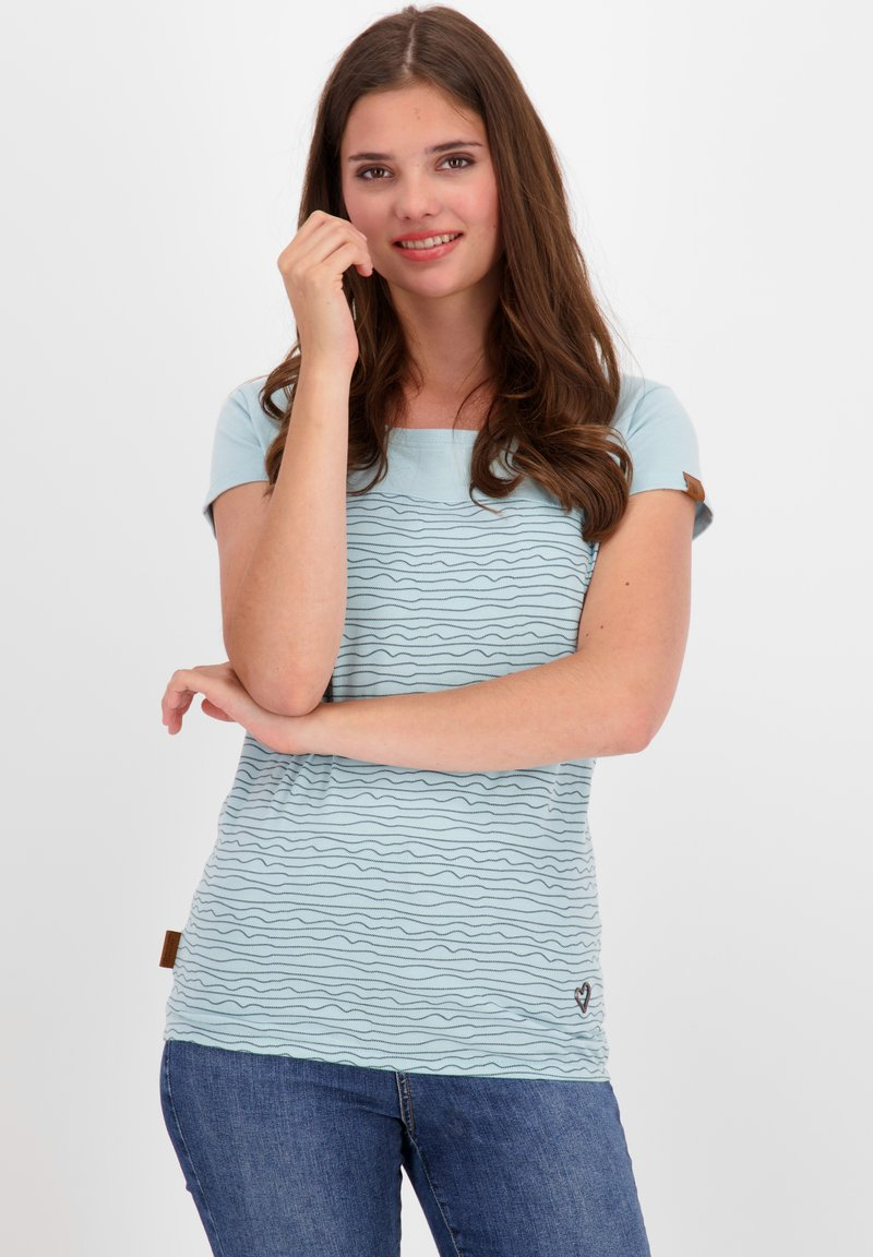 alife & kickin - Print T-shirt - ice