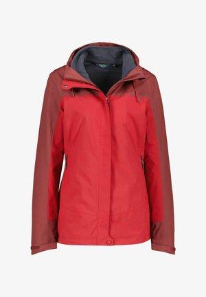 Outdoor jacket - dunkelrot (509)