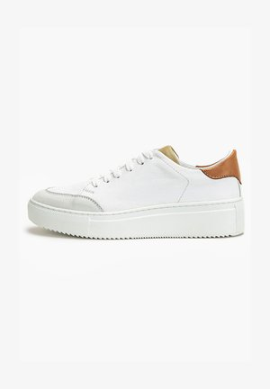 Sneakers laag - white olive woe