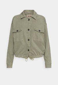 Mos Mosh - QUINN FLOW JACKET - Summer jacket - soft moss - 0
