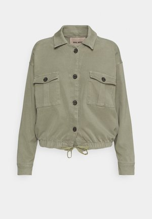 QUINN FLOW JACKET - Summer jacket - soft moss