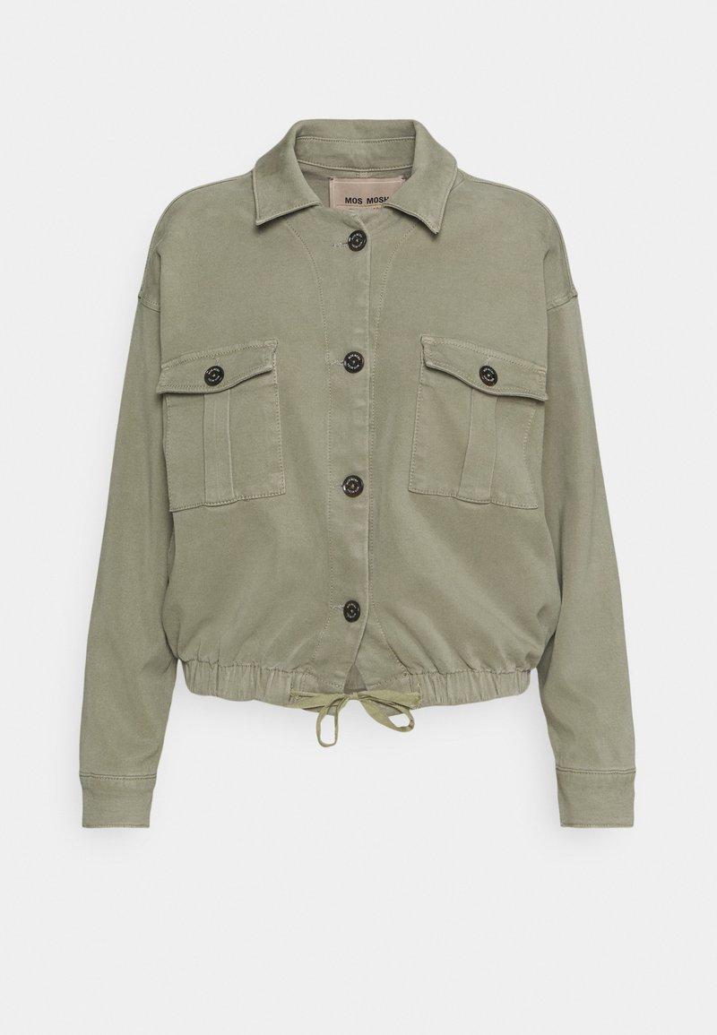 Mos Mosh - QUINN FLOW JACKET - Summer jacket - soft moss