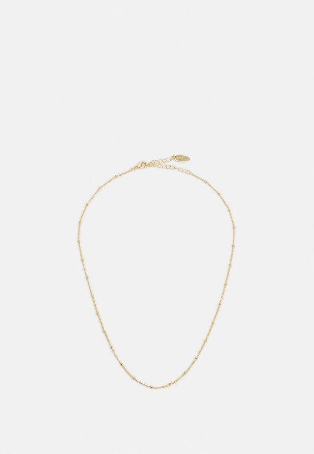 SATELLITE CHAIN NECKLACE - Collier - pale gold-coloured
