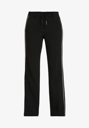 MARLEEN - Kalhoty - black