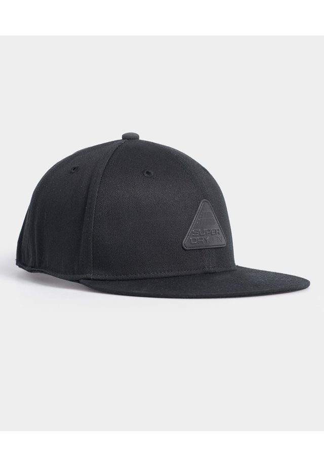 SUPERDRY 6 PANEL TWILL CAP - Pet - black