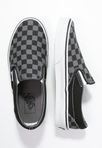 Vans - CLASSIC SLIP-ON - Mocassins - black/pewter - 1
