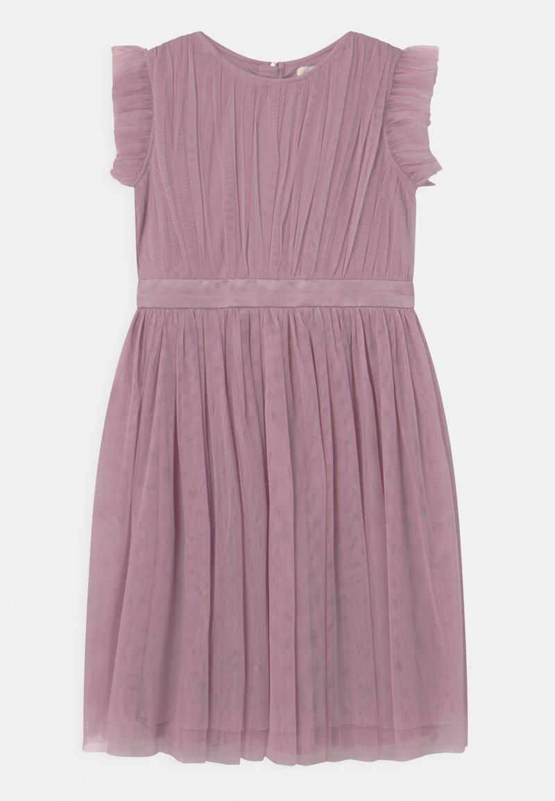 Anaya with love - PRINTED DRESS WITH BOW BACK - Cocktailkjole - keepsake lilac