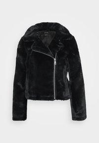Vero Moda - VMTHEA BIKER JACKET - Winter jacket - black - 5